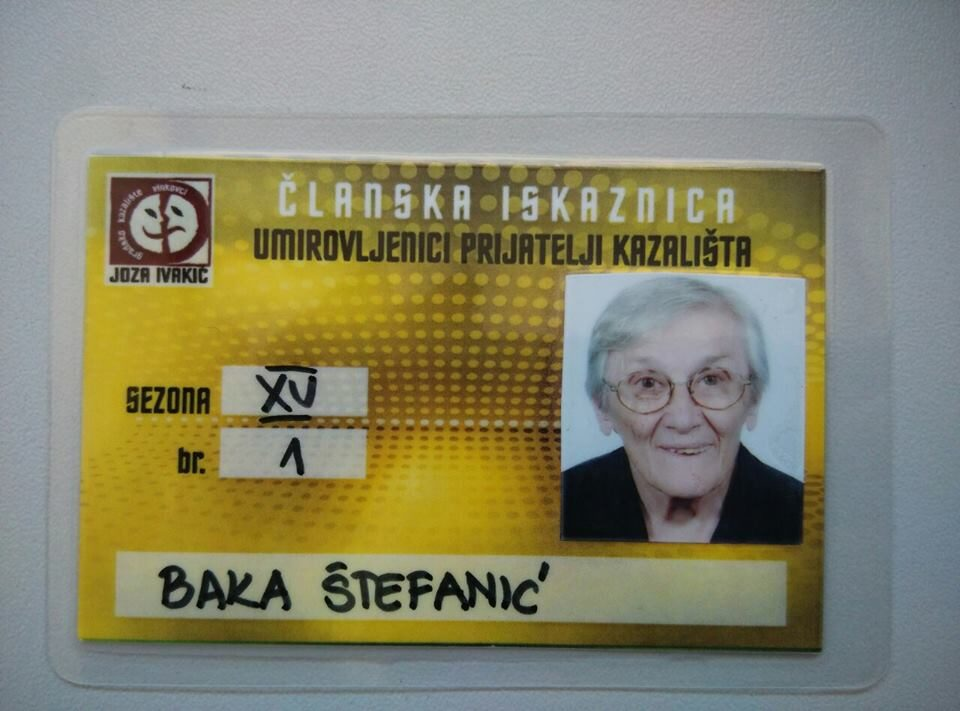 Umirovljeničke iskaznice