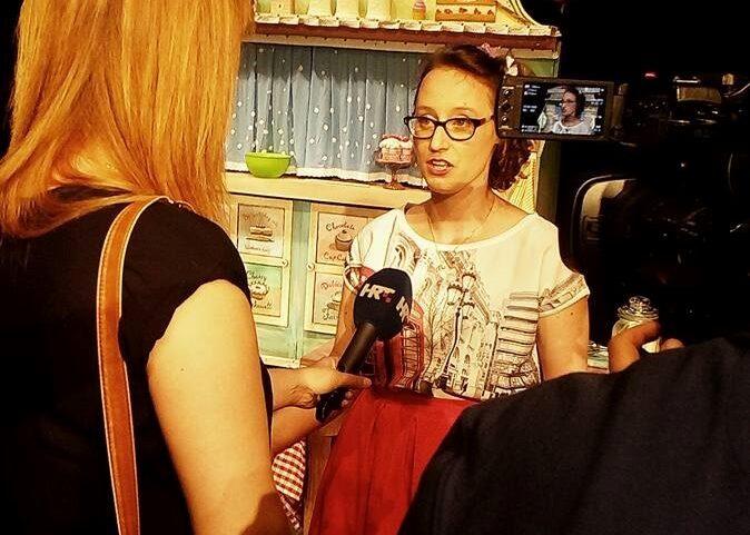 Prilog o Čarobnom kolaču iz emisije Vijesti iz kulture (HRT)