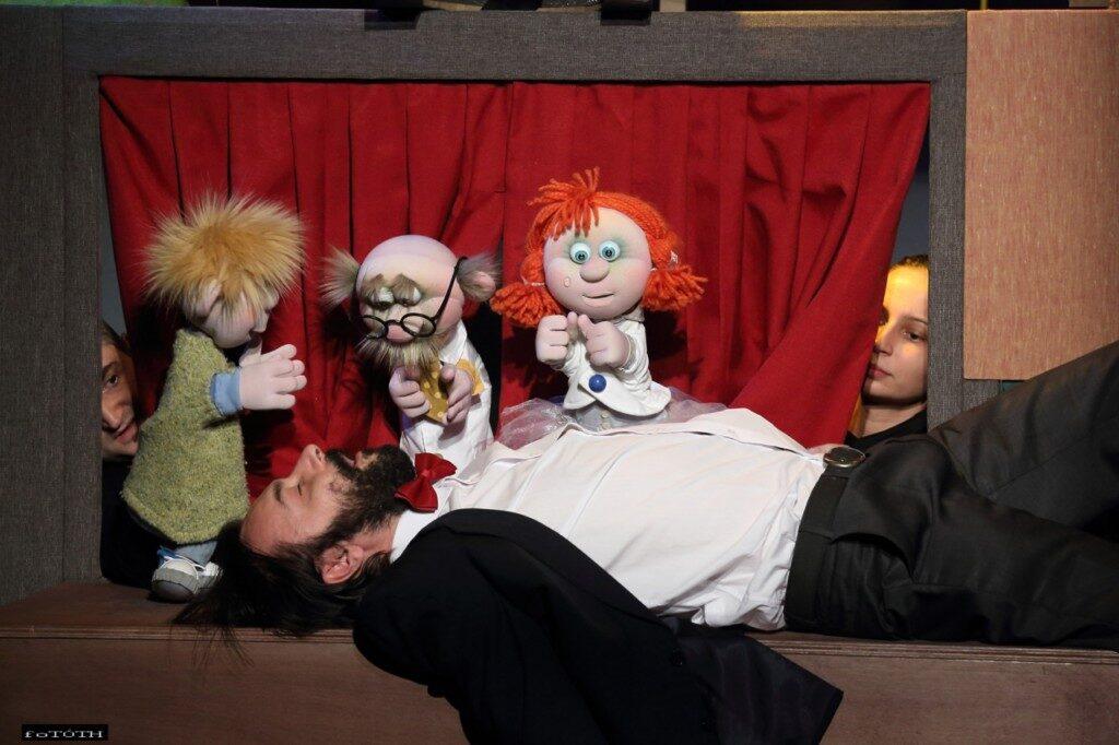 """Predstava za djecu """"Guliver među lutkama"""""""