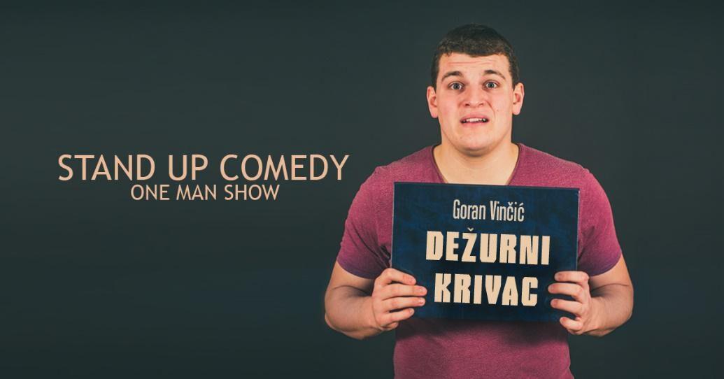 """Dežurni krivac"", stand-up comedy show"