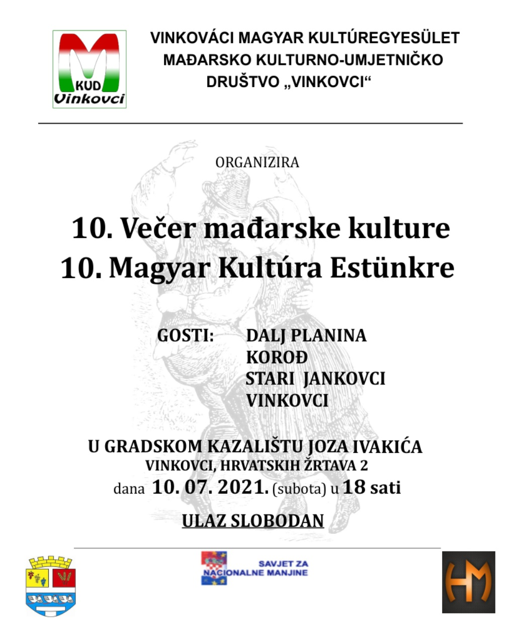 10. večer mađarske kulture