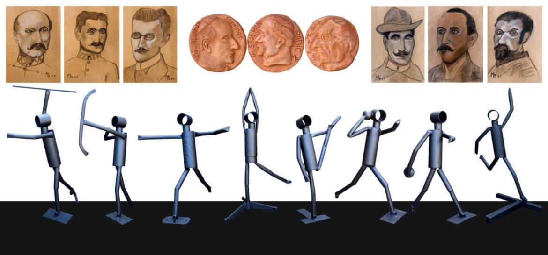 Otvorenje izložbe skulptura i crteža Berislava Medića: U POKRETU (In moderato cantabile)