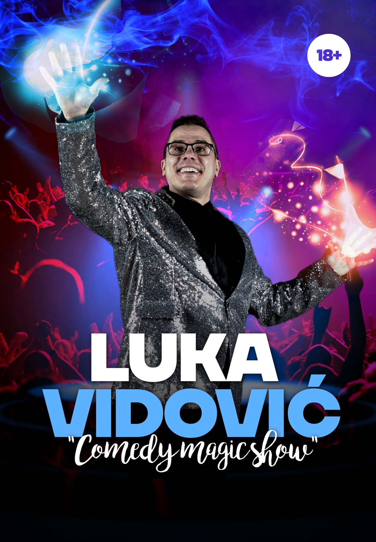 Luka Vidović: Comedy Magic Show 18+