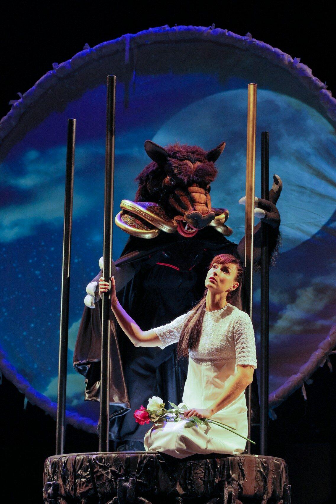 """""""Ljepotica i zvijer"""", predstava za djecu"""