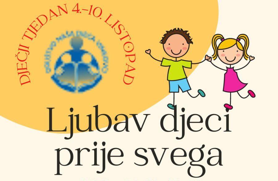 Smotra Društva Naša djeca Vinkovci u slučaju lošeg vremena održava se u kazalištu